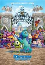 Locandina Monsters University