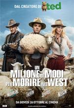 Poster del film Un milione di modi per morire nel West