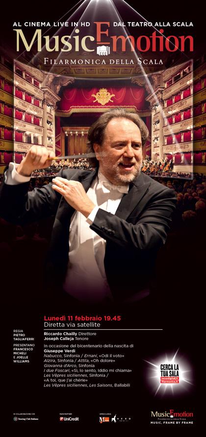 Dalla Filarmonica della Scala: Concerto di Riccardo Chailly