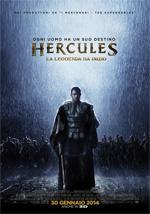 Locandina Hercules - La leggenda ha inizio