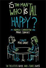 Locandina Is the Man Who Is Tall Happy?: An Animated Conversation With Noam Chomsky