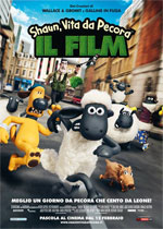 Locandina italiana Shaun, Vita da pecora - Il film