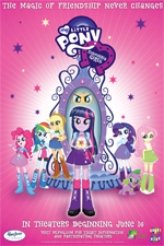 Locandina My Little Pony: Equestria Girls
