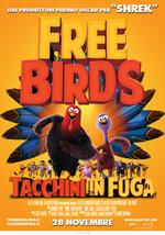 Locandina Free Birds - Tacchini in fuga