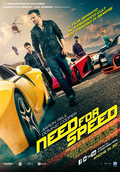 Locandina Need for Speed
