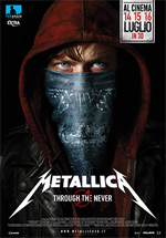 Locandina Metallica 3D - Through the Never