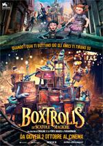 Locandina italiana Boxtrolls - Le scatole magiche