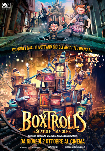 BoxTrolls – Le scatole magiche in streaming & download