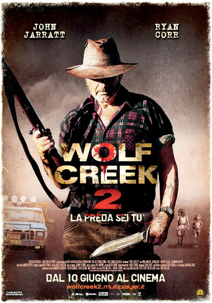 Wolf Creek 2 – La preda sei tu in streaming & download