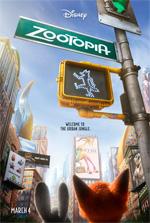Poster Zootropolis  n. 1