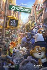 Poster Zootropolis  n. 3