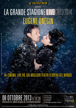 Locandina The Metropolitan Opera di New York: Eugene Onegin