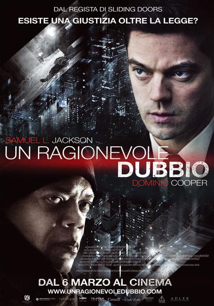Locandina italiana Un ragionevole dubbio