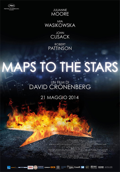 Maps to the Stars in streaming & download