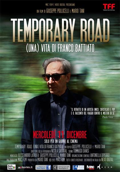 Trailer Temporary road - (Una) Vita di Franco Battiato