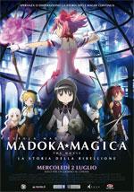 Locandina Madoka Magica - The Movie: La storia della ribellione