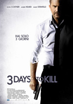Locandina Three Days To Kill