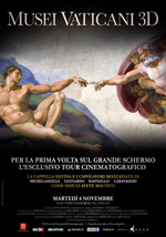 Poster Musei Vaticani 3D  n. 0