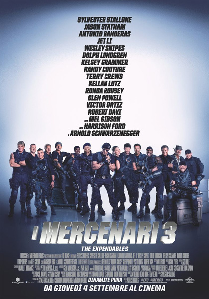 Locandina I Mercenari 3 – The Expendables