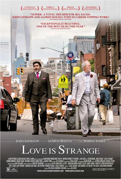 Locandina I toni dell'amore - Love Is Strange