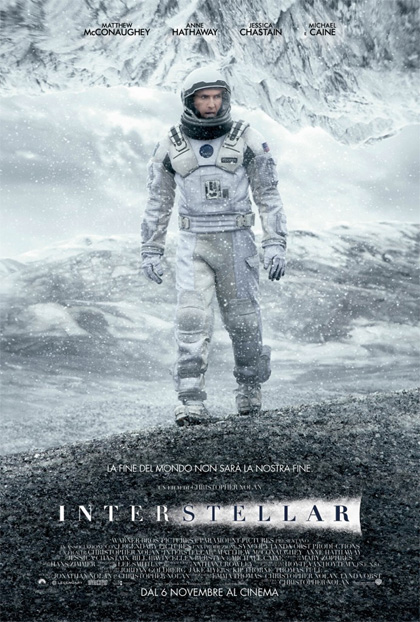 Interstellar in streaming & download