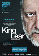 Locandina National Theatre Live - King Lear