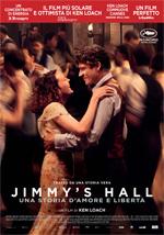 Locandina Jimmy's Hall - Una storia d'amore e libertà