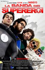 Locandina La banda dei supereroi
