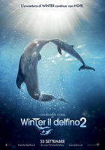 Locandina L'incredibile storia di Winter il Delfino 2