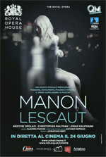 Locandina Royal Opera House: Manon Lescaut