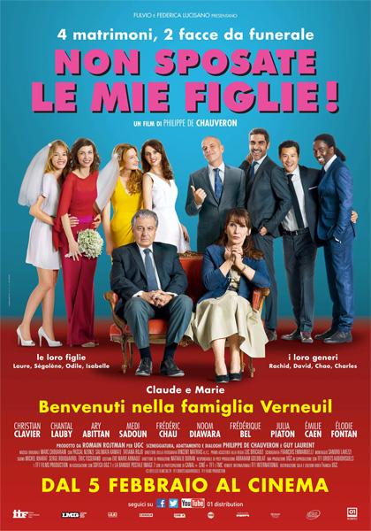 Locandina italiana Non sposate le mie figlie!