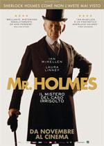 Locandina Mr. Holmes - Il mistero del caso irrisolto