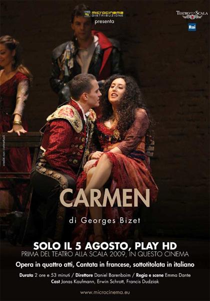 Teatro alla Scala di Milano: Carmen in streaming & download