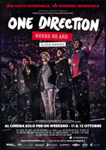 Locandina One Direction - Where We Are