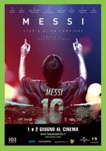 Locandina Messi - Storia di un campione