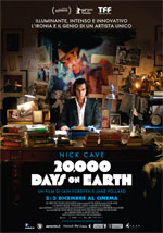Locandina Nick Cave - 20.000 Days On Earth