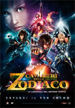 Locandina I Cavalieri dello Zodiaco - La leggenda del Grande Tempio