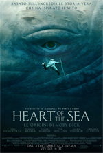 Locandina Heart of the Sea - Le origini di Moby Dick
