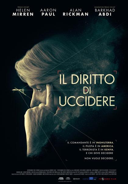 Locandina italiana Il diritto di uccidere