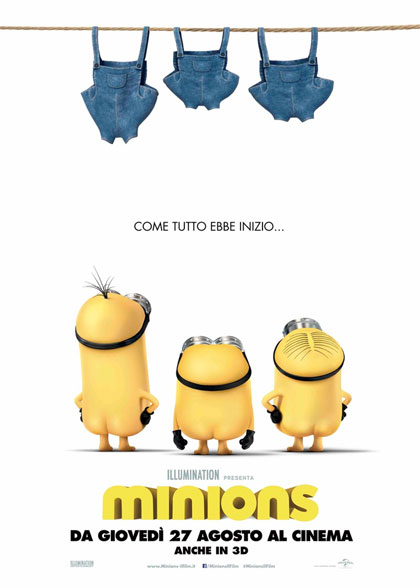 Minions in streaming & download