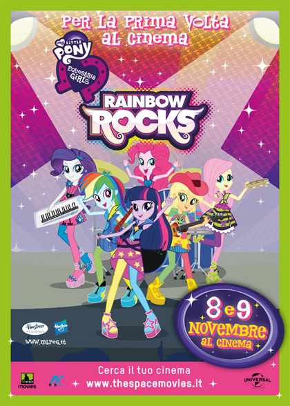 My Little Pony: Rainbow Rocks in streaming & download