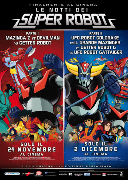 Le notti dei Super Robot – Parte 2 in streaming & download
