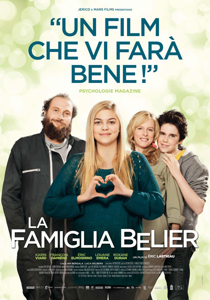 Locandina italiana La famiglia Bélier