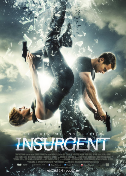 Locandina italiana The Divergent Series - Insurgent