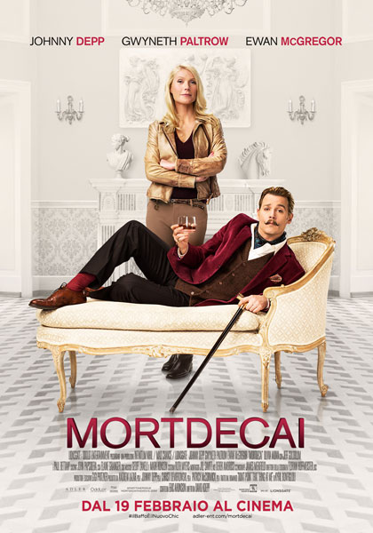 Mortdecai in streaming & download