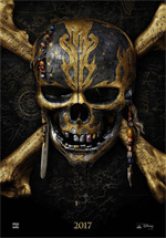 Poster Pirati dei Caraibi - La vendetta di Salazar  n. 1