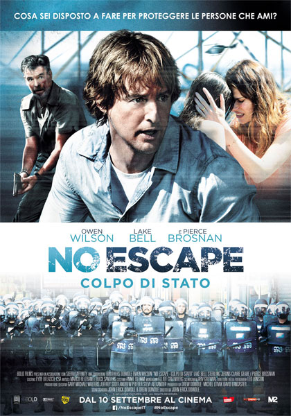 No Escape – Colpo di Stato in streaming & download