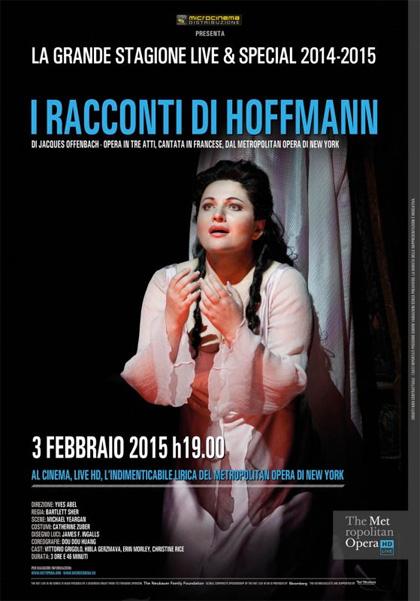 Metropolitan Opera di New York: I racconti di Hoffmann in streaming & download