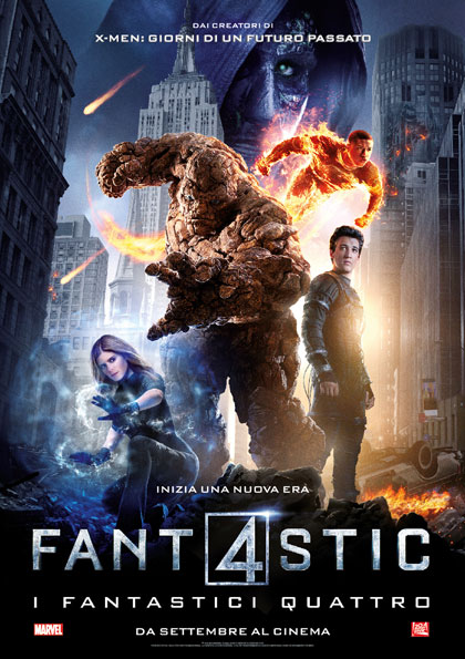 Fantastic 4 – I fantastici quattro in streaming & download