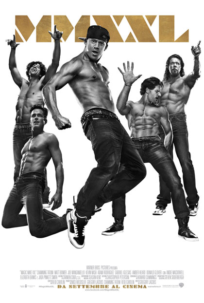 Locandina italiana Magic Mike XXL